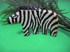 Soapstone Zebra Figurine Home Decor Collectibles