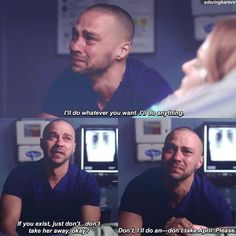 If that moment don't break your heart, you not a human at all Grey's Anatomy. If that moment don't break your heart, you not a human at all Greys Anatomy Couples, Greys Anatomy Funny, Greys Anatomy Facts, Grey Anatomy Quotes, Grays Anatomy, Greys Anatomy Derek Dies, Greys Anatomy Jackson, Greys Anatomy Scrubs, Jackson And April