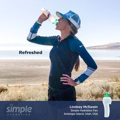 Simple Hydration One Word Series. Hydration Bottle, Antelope Island, Racing Team, Water Bottle, Running, Simple, Swimwear, Bathing Suits, Swimsuits