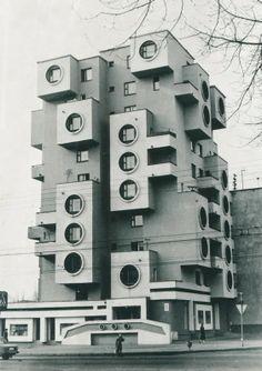 Pozoruhodná architektura SSSR 60.-80. léta