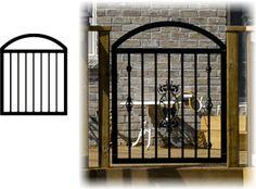 Image for Stiles Railing System Baluster Arched Deck Gate