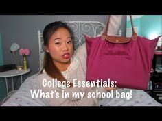 #College Essentials: What's in my school bag?!