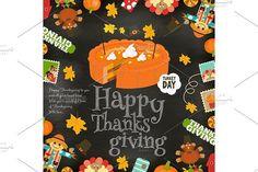 Thanksgiving card. Wooden #thanksgiving