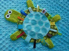 Turtle Crinkle Toy DIY