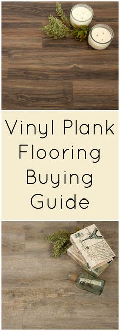 Vinyl Plank Flooring Buying Guide With all the information out there, vinyl plank flooring can be a confusing subject. That's why I've compiled the best information we have on vinyl planks. Best Flooring, Diy Flooring, Flooring Options, Kitchen Flooring, Flooring Ideas, Vinyl Wood Planks, Vinyl Wood Flooring, Wood Vinyl, Installing Vinyl Plank Flooring