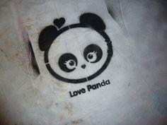 Panda Love, Panda Panda, Cartoon Panda, Another Love, Tissue Boxes, Graffiti, Street Art, Snoopy, Creative