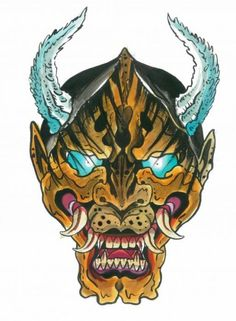 oni-mask-tiger-keith-diffenderfer