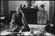 """""""If you live in each moment, you do not expect anything. With everything, you know, you become you yourself."""" ~ Shunryu Suzuki Roshi"""