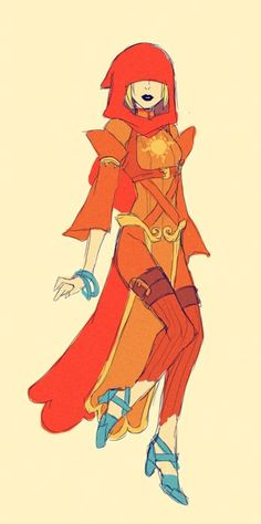 This is a great god tier design, I would love to cosplay this one day!!