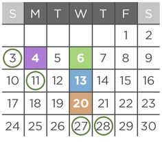 Sample twice-weekly real estate blog content calendar. | Real ...