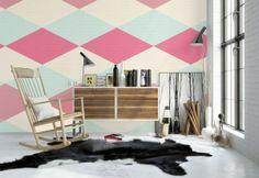 #paredespintadas con #figurasgeometricas
