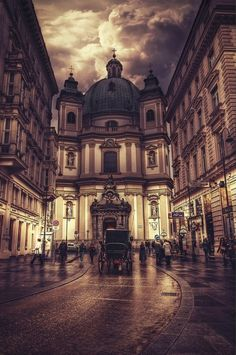 I'm such a huge Ludwig Van Beethoven fan (among many other incredible composers from here) that I'd love to visit Vienna.