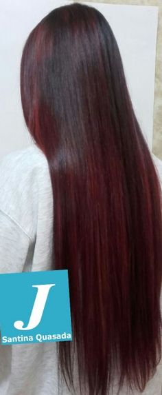 #redpassion#verticalcolor#degradéjoelle#longhair#igiers#