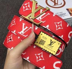 UA Replica Supreme X Brand Belt in RED, BROWN AND BLACK is part of Clothes Design Men - buy quality replica supreme x louis Vuitton belt and other replica supreme x louis Vuitton collaboration clothes, bags, wallets etc Louis Vuitton Shirts, Louis Vuitton Belt, Louis Vuitton Handbags, Bape, Designer Belts, Designer Clothing, Designer Jackets, Blazer Outfit, Men's Fashion Styles