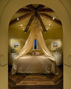 40 cute romantic bedroom ideas for couples - Canopied Beds