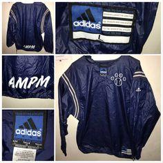 5e19e933a178be Adidas 90s Vintage ADIDAS BASEBALL Warmup Windbreaker Vintage Sportswear  Long Sleeve Size US L   EU