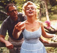 Arthur Miller & Marilyn Monroe, 1956