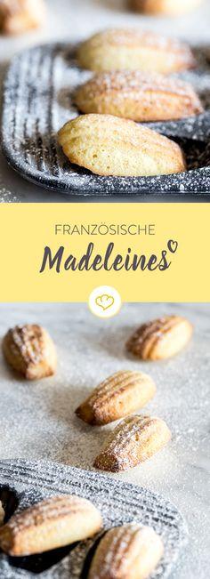 Madeleines gehören zu den Klassikern der französischen Backkunst. Mit einem Hauch Vanille und Zitrone fühlst auch du dich bald wie Gott in Frankreich.