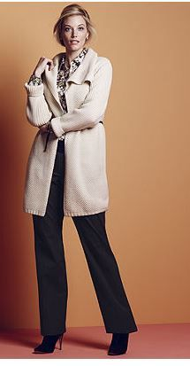 long sweater coat. I love them. I have a couple and always will have.