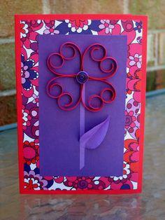 DIY: Flower Power Heart Card