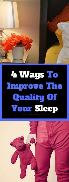 4 Ways To Improve The Quality Of Your Sleep - Learn how to get a better nights rest with these amazing tips that will teach you how to effectively fall off to sleep. Health Tips For Woman And Men
