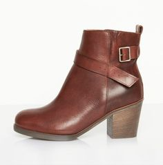 MM6 MAISON MARTIN MARGIELA UNDONE ANKLE BOOT