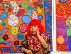 Image result for yayoi kusama flower sculpture