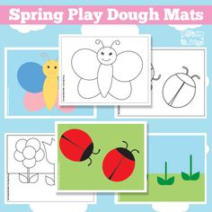 Spring Play Dough Mats Lets Play With Play Dough It's busy bag time! This moth the busy bag blog hop's theme is spring and I've created these fun to play with spring play dough mats! (If you are curious – last month we did rainbow themed busy bags and they were all amazing). Whether you...Read More »
