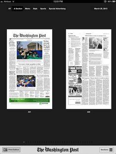 washington post: o velho no novo, o caminho mais curto para dar errado #newjournal