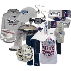 PATRIOTS FEVER! I own those Cuce boots and I love them!