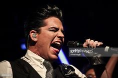 Adam Lambert performs at exclusive gig for HMV competition winners at Heaven on April 26, 2010 in London, England.