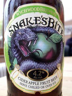Wychwood Snake's Bite Craft Ale, British Beer, Beer Label Design, Coffee Snobs, Beer 101, Home Brewing Beer, Beer Garden, Wine And Spirits, Root Beer
