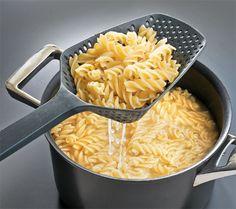 Concha que pode ser usada como escorredor :: Loja Cook!