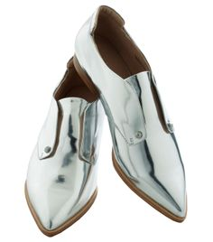 joe's jeans chrome flat | shoes | pointed | fashion | futuristic | menswear | androgynous |