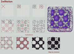 Zwitterion-Tangle Pattern | Flickr - Photo Sharing!