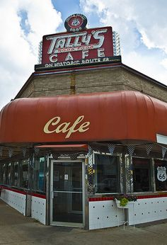 Tally's Cafe, Route 66 - Tulsa, Oklahoma