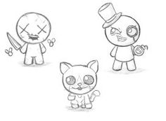 The Binding of Isaac - My Sketches by Kenny1654
