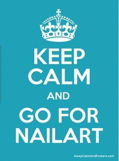 Keep Calm... Nailart   #nailart