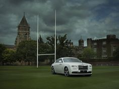 Celebrating the Rugby World Cup in style! Introducing the 2015 Rolls Royce Wraith History of Rugby Special Edition #car #cars #rugbyworldcup #rollsroyce #rolls #royce #wraith #pictures #veepix #veepixupdate