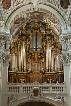 Eisenbarth organ at the Cathedral, Passau, Germany