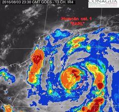 Activa Segob medidas preventivas en cinco estados ante llegada del huracán 'Earl' - Noticias MVS