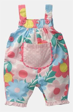 Mini Boden Short Coveralls (Infant) available at Nordstrom Mais Baby Sewing Projects, Sewing For Kids, Baby Girl Fashion, Kids Fashion, Toddler Outfits, Kids Outfits, Baby Clothes Patterns, Girls Rompers, Mini Boden
