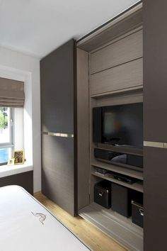 38 Best Contour Design Ideas For Sliding Door Gallery is part of Bedroom wardrobe - Home improvement includes simple yet innovative methods to spice up your home A great idea to change the look of […] Bedroom Closet Doors, Wardrobe Design Bedroom, Tv In Bedroom, Bed Room, Master Bedroom, Bedroom Ideas, Bedroom Cupboard Designs, Bedroom Cupboards, Condominium Interior
