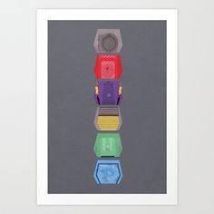 MST3K Doors Art Print by Justin Cybulski | Society6