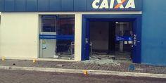 Landisvalth Blog           : Bandidos explodem banco em Poço Verde