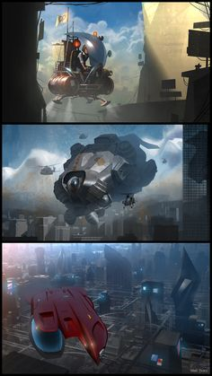 Check out these new concept art designs by Matt Tkocz! http://conceptartworld.com/?p=11038  Matt Tkocz is a concept designer and film illustrator currently based in Los Angeles, California. He has worked on projects such as Need For Speed, Sin City: A Dame to Kill For and Monster Trucks.  Matt will be teaching the Digital Painting 1 Master Class at the CG Master Academy.