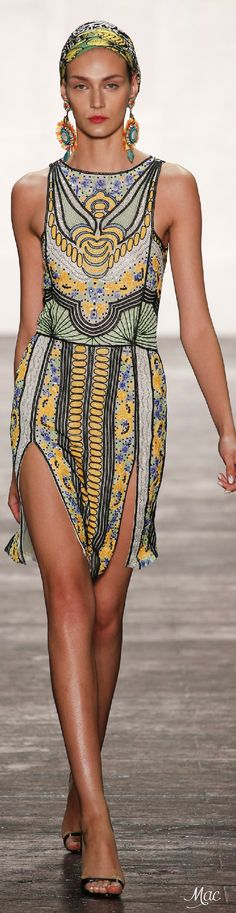 Spring 2016 Ready-to-Wear Naeem Khan