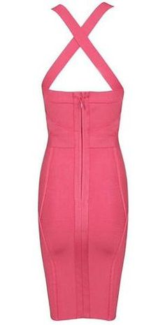 Ada Cross Back Strap Dress