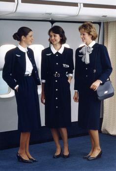 カルヴェンによるエールフランスCAの制服