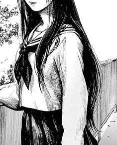 Manga Girl, Anime Art Girl, Junji Ito, Effy And Freddie, Konoha High School, Yandere Manga, Black And White Picture Wall, Ahegao, Anime Girlxgirl